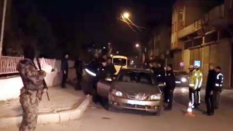 Gaziantep'te 960 polisle uyuşturucu operasyonu! 24 saat sürecek