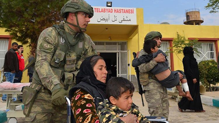 MSB açıkladı... Tel Abyad Hastanesi onarıldı