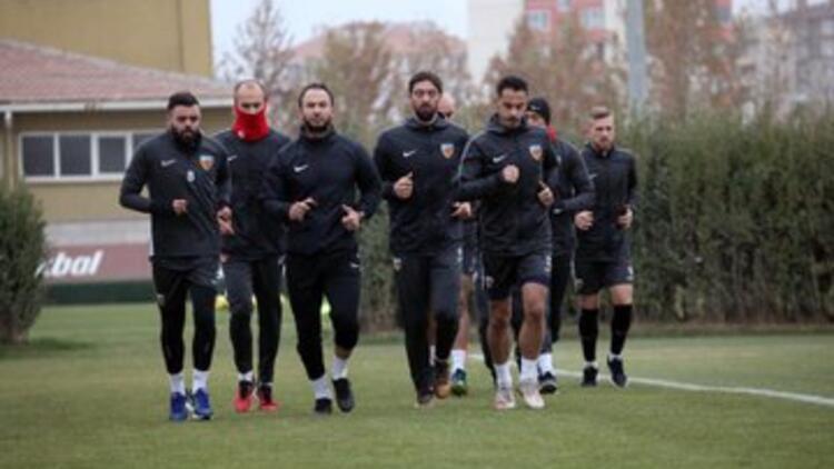 Kayserispor'da Beşiktaş maçının hazırlıkları sürüyor