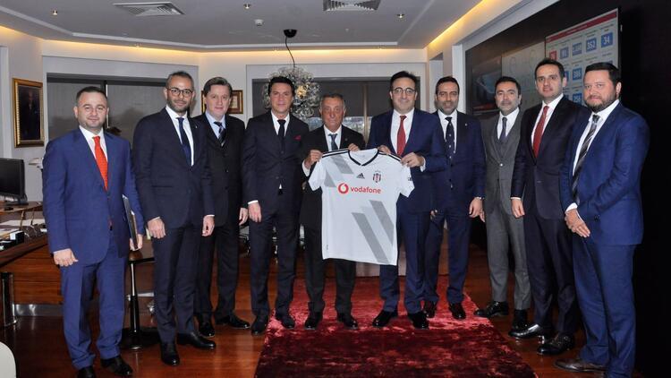 Beşiktaş Başkanı Ahmet Nur Çebi'den İlker Aycı'ya ziyaret