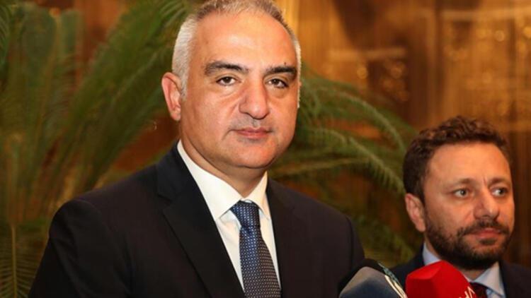 """Kültür ve Turizm Bakanı Ersoy: """"Sinema sektörüne 38 milyon lira destek sağladık"""""""