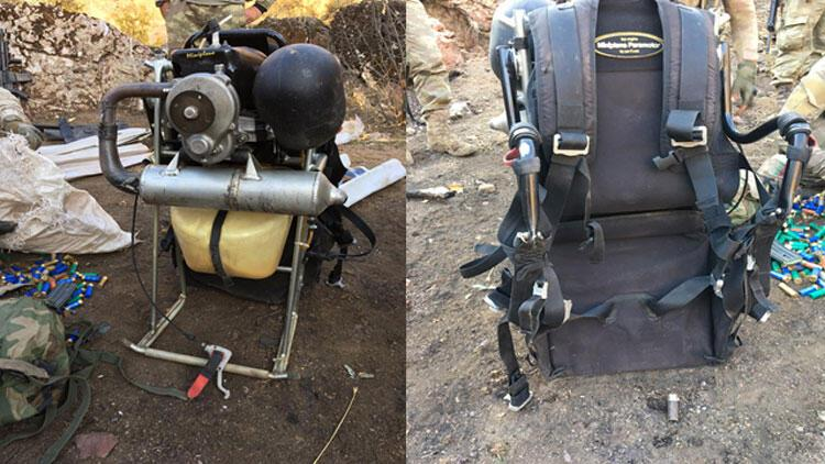 Son dakika haberi… MSB bu fotoğrafla duyurdu: Paramotorla saldıracaklardı!