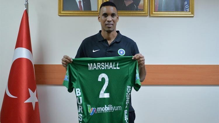 Leonel Marshall Bursa Büyükşehir Belediyespor'da
