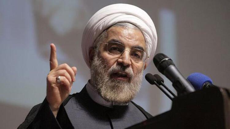"""Ruhani: """"İran, düşmanların komplolarına teslim olmayacak"""""""