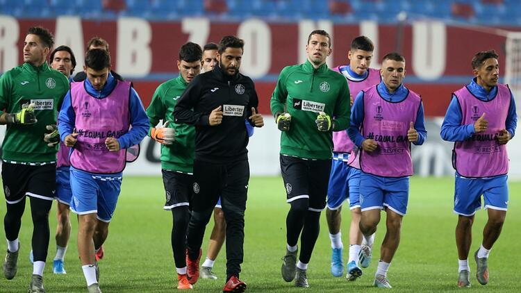 Getafe, Trabzonspor maçına hazır