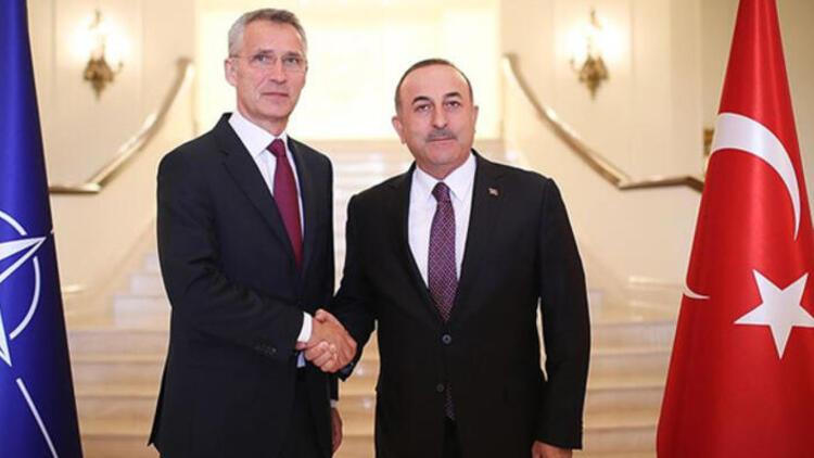 Bakan Çavuşoğlu NATO Genel Sekreteri Jens Stoltenberg ile görüştü