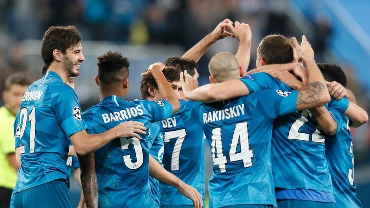 Zenit sahasında Lyon'u iki golle geçti