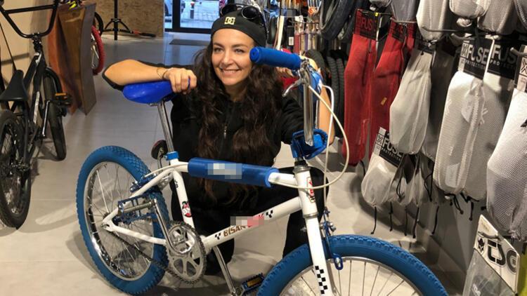 Su Soley: 26 sene sonra bisikletine kavuştu