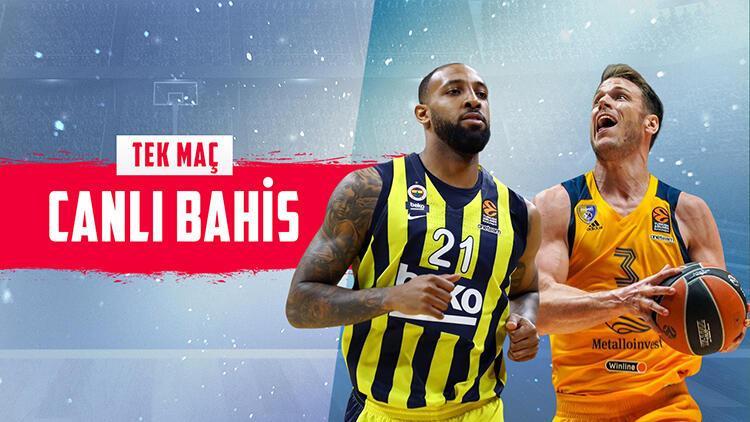 Fenerbahçe Beko'nun konuğu Khimki! iddaa'da galibiyetlerine...