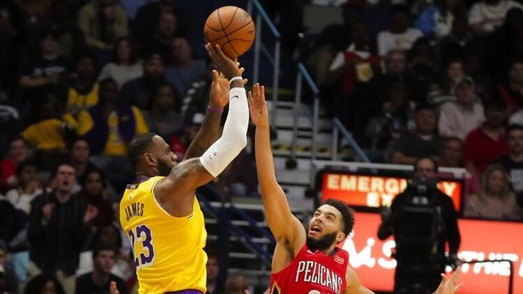 NBA'de gecenin sonuçları | LeBron James, 33 bin sayıbarajını geçen 4. isim oldu!