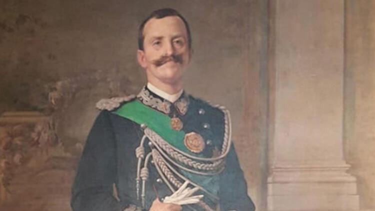 119 yıllık İtalyan Kralı tablosunun çerçevesi restorasyona alındı