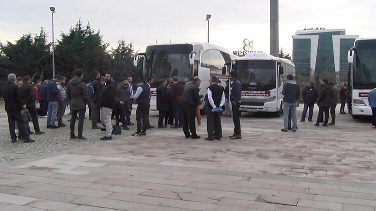 Esenyurt'tan 90 Suriyeli ülkesine dönüyor