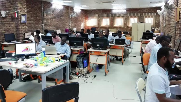 TİKA Sudan'da milli ekipmanlarla 3D modelleme eğitimi verdi
