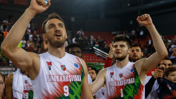 Pınar Karşıyaka'da sıra çeyrek finalde