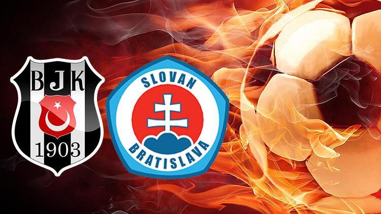 Beşiktaş Slovan Bratislava bu akşam saat kaçta hangi kanalda? Tarihte ikinci kez!