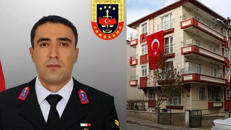 Acı haber şehidin Ankara'daki ailesine ulaştırıldı