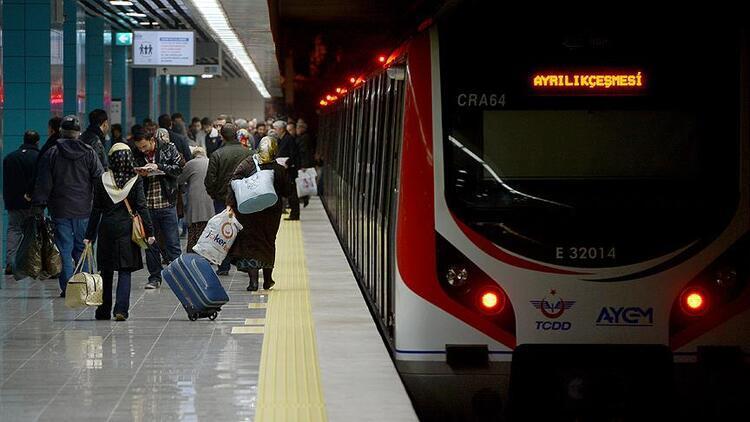 Marmaray'da 20 Kasım'da 500 binin üzerinde yolcu taşındı