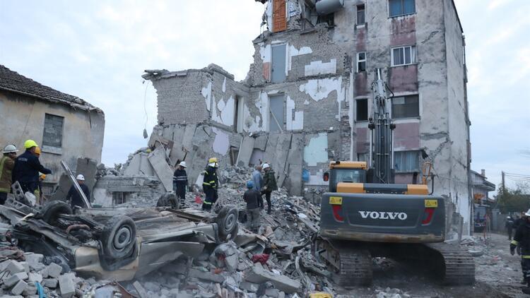 Son dakika haberleri: Arnavutluk'taki depremde ölü sayısı artıyor