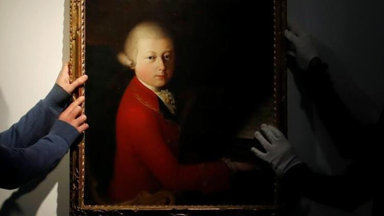 Mozart'ın çocukluk portesi 4 milyon euroya satıldı!