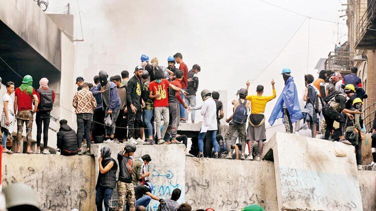 Irak'ta İran'a öfke zirve yaptı