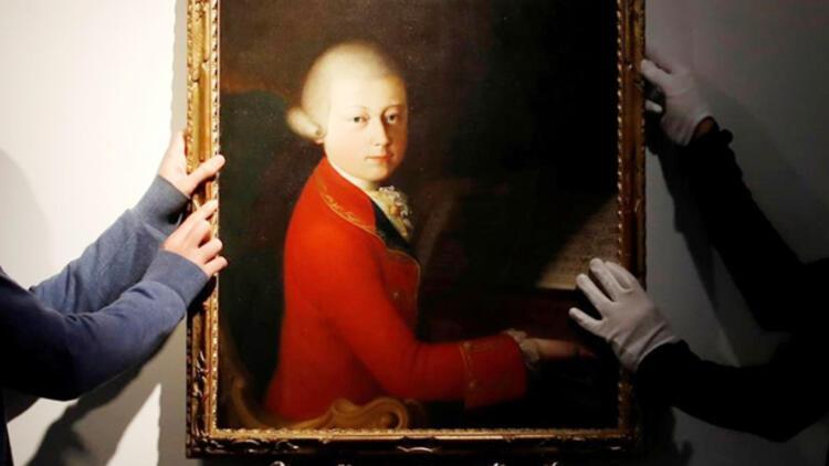 Mozart'ın çocukluk portesi 4 Milyon Euro'ya satıldı