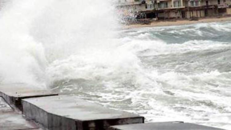 Karadeniz için fırtına uyarısı yapıldı