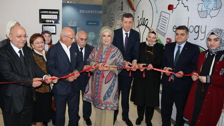 Kadıköy'de Hayriye Gülbaran Deneyap Atölyesi açıldı
