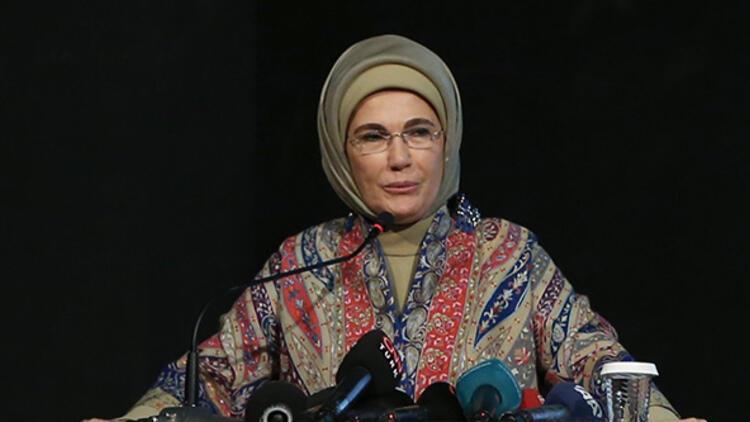 Emine Erdoğan, Kadıköy'de Hayriye Gülbaran Deneyap Atölyesi'nin açılışında konuştu