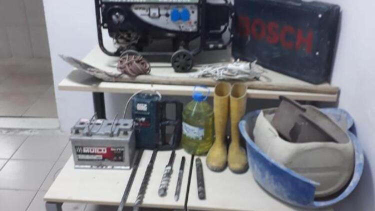 Nevşehir'de define kazasına 6 gözaltı