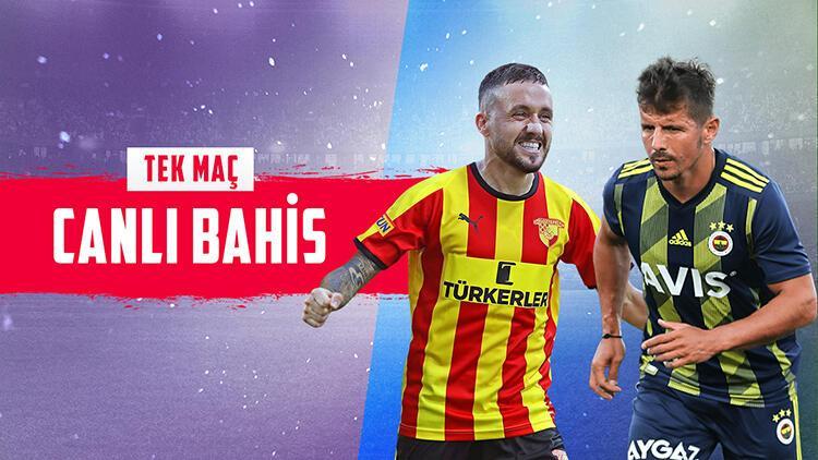 Fenerbahçe, İzmir'de Göztepe'ye konuk oluyor! iddaa'da öne çıkan...
