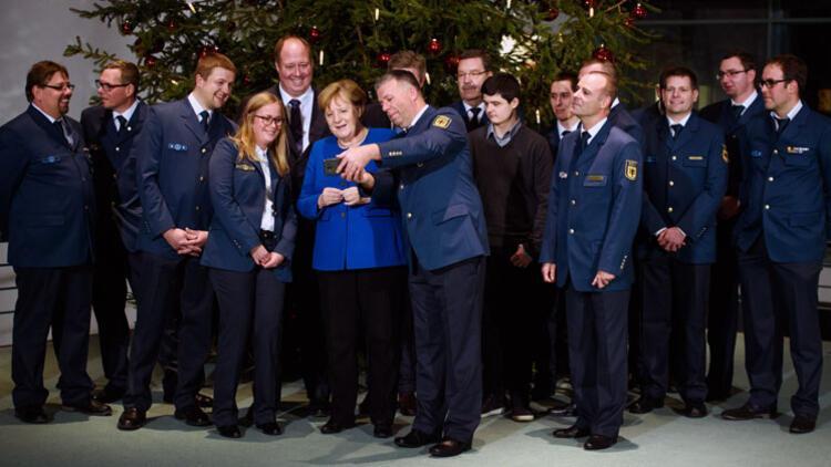 'En güzel ağaç' Merkel'e