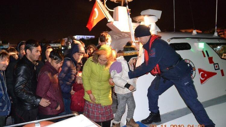 Sahil Güvenlik Komutanlığı açıkladı! Son bir haftada bin 772 düzensiz göçmen yakalandı