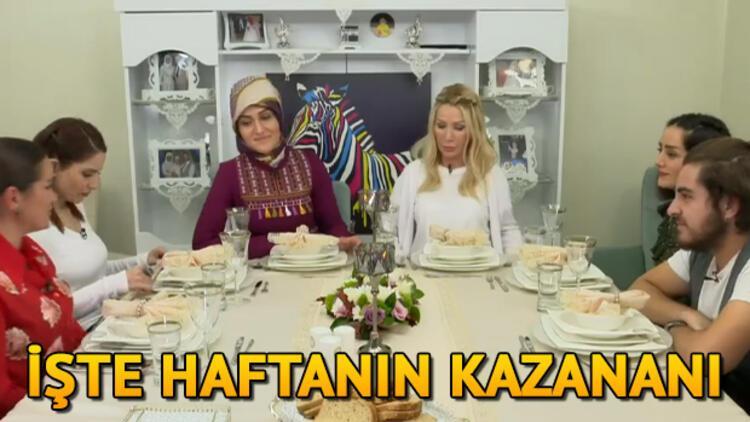 Yemekteyiz birincisi bu hafta kim oldu? İşte 25 29 Kasım haftası Seda Sayan ile Yemekteyiz kazananı ve puan durumu