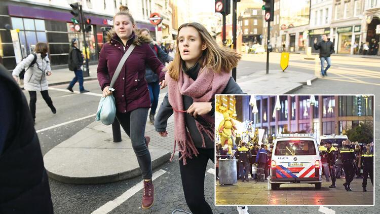İngiltere ve Hollanda'da bıçaklı saldırı