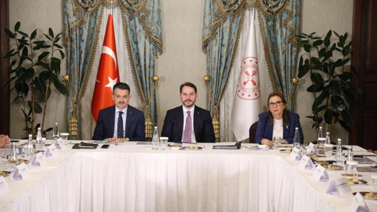 Bakan Albayrak: Gıda enflasyonu ile mücadeledeki yapısal adımlarımızı ele aldık