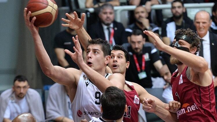 Çekişmeli maçta kazanan Beşiktaş Sompo Sigorta!