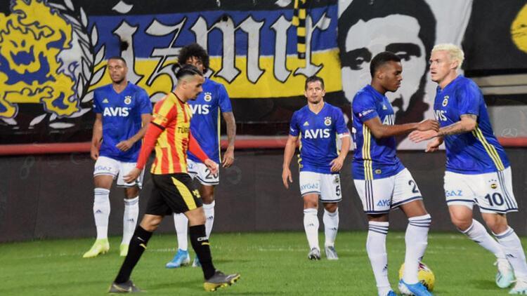 Fenerbahçe - Göztepe maçında şoke eden olay!