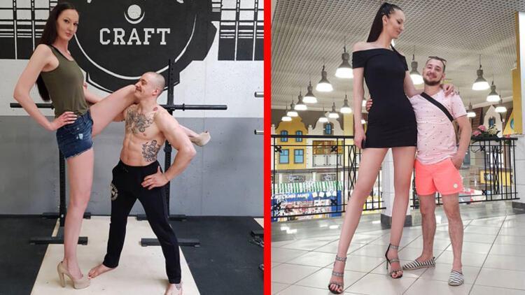 Dünyanın en uzun bacaklı kadınından isyan!