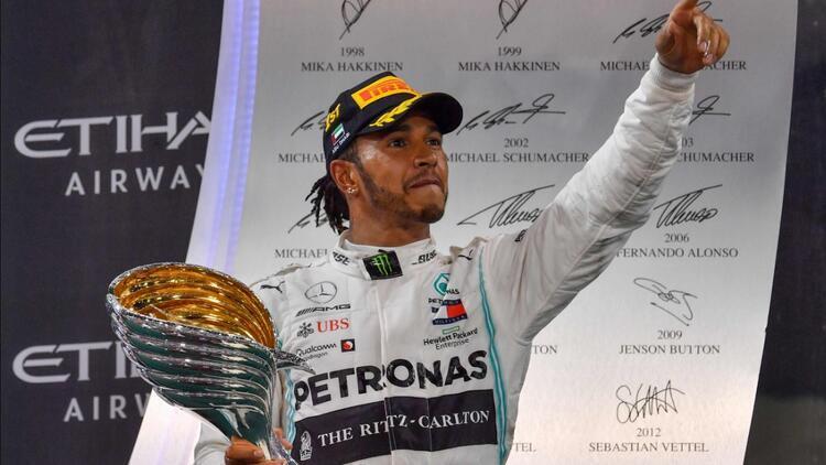 Formula 1'de sezon Hamilton'ın zaferiyle kapandı