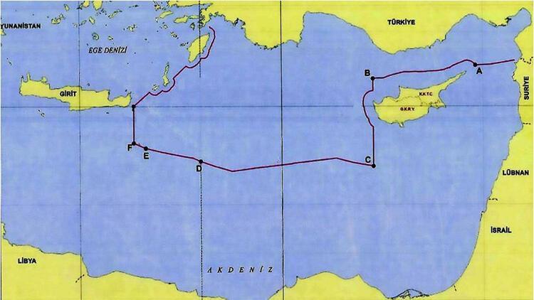 Son dakika: Yunanistan'ı şoke eden tarihi hamle sonrası Türkiye o haritayı paylaştı!