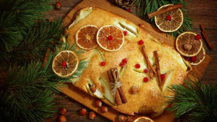 Portakallı Tarçınlı Kek Tarifi