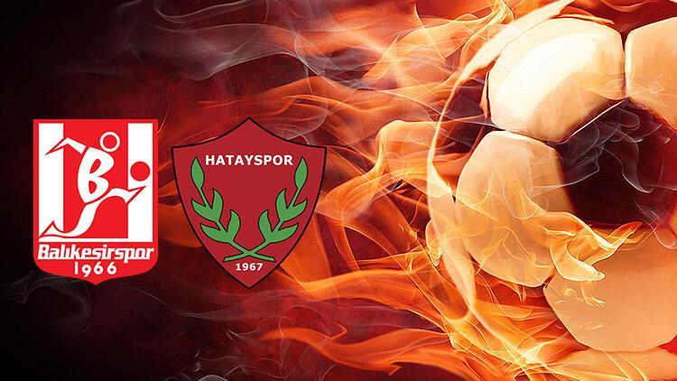 Balıkesirspor Hatayspor maçı ne zaman saat kaçta hangi kanalda?