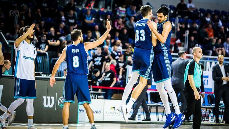 Türk Telekom, FIBA Şampiyonlar Ligi'nde SIG Strasbourg'u ağırlayacak