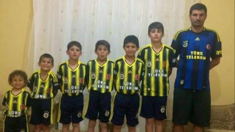 Sosyal medyanın konuştuğu fanatik Fenerbahçeli aile