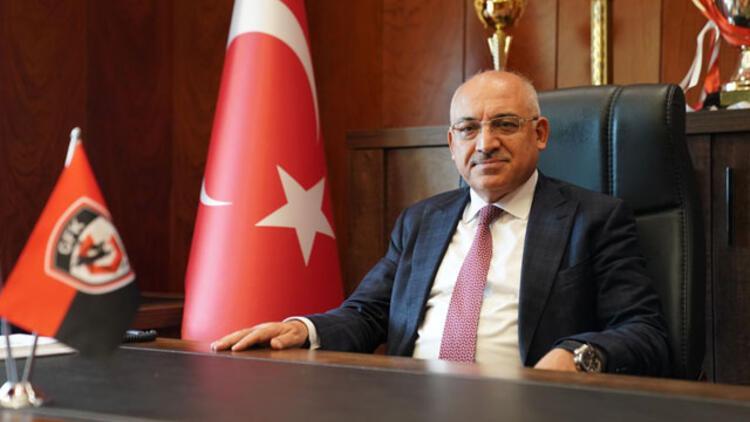 Gaziantep FK Başkanı Mehmet Büyükekşi: Hedef ilk 11 içerisinde olmak