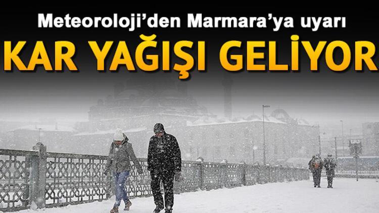 Meteoroloji'den Marmara'ya kar uyarısı... 4 Aralık il il hava durumu raporu