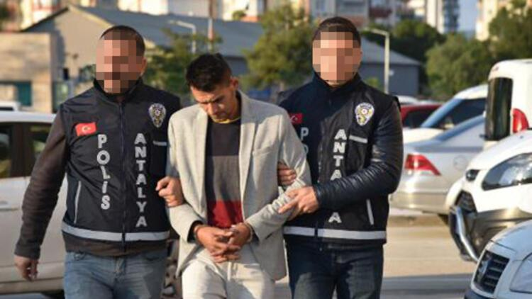 10 ay sonra yakalanan gaspçı tutuklandı