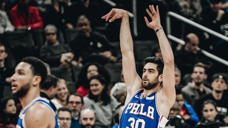 NBA'de gecenin sonuçları | Furkan Korkmazlı 76ers, Wizards'a yenildi!