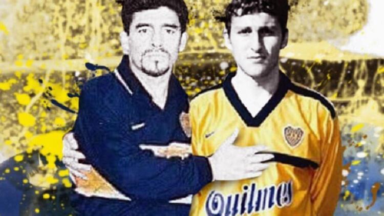 Maradona'nın son takım arkadaşı da emekli oldu