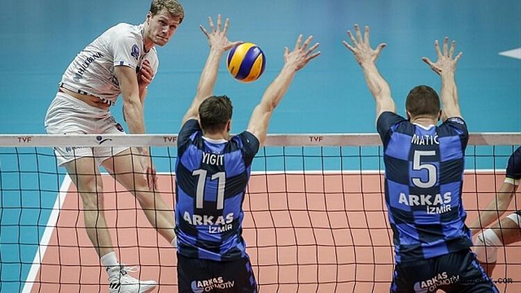 Halkbank'ın rakibi Arkas Spor